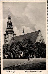 Ak Sowjetsk Tilsit Ostpreußen, Deutsche Ordenskirche