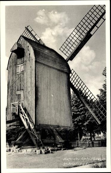 Ak Haderslev Hadersleben Dänemark, Haderslev Amts Museum Stubmalle fra Rangstrup