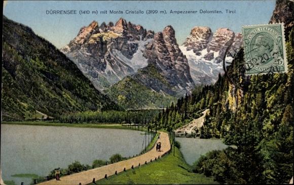 Ak Südtirol, Dürrensee, Monte Cristallo, Ampezzaner Dolomiten