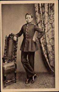 Ak Generalfeldmarschall Paul von Hindenburg, Als Kadett in Wahlstatt um 1860