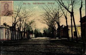 Ak Mendoza Argentinien, Calle Sarmiento