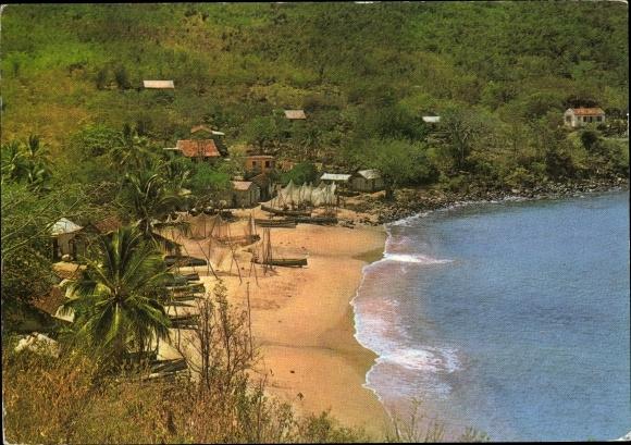 Ak Martinique, Une petite plage, l'Anse Dufour