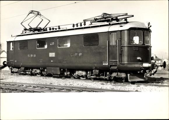 Ak Leichte Schnellzug Lokomotive Re 4/4 427 - 450, SBB, CFF