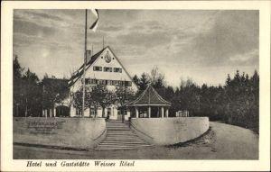 Ak Gräfelfing Oberbayern, Hotel Gaststätte Weißes Rössl, Inh. Gustav Alewyn & Co.