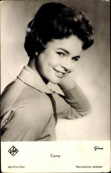 Ak Schauspielerin und Sängerin Conny Froboess, Portrait, Ufa Film