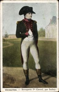 Künstler Ak Isabey, Versailles Yvelines, Napoleon Bonaparte, Kaiser Napoleon I.