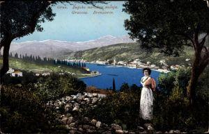 Ak Gruz Dubrovnik Kroatien, Breneserin, Zupska narodna nosnja