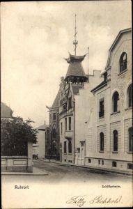 Ak Ruhrort Duisburg Nordrhein Westfalen, Schifferheim