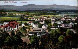 Ak Kudowa Zdrój Bad Kudowa Schlesien, Panorama