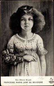 Künstler Ak Prinzessin Marie José von Belgien, Kinderportrait