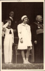 Ak Gembloux Wallonien Namur, Fetes scolaires, Prinzessin Josephine Charlotte von Belgien, Baudouin