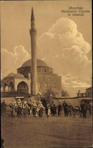 Ak Skopje Mazedonien, Moschee Mustapha Pascha