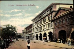 Ak Colombo Ceylon Sri Lanka, Princes Street, Walker Sons & Co. Ltd.