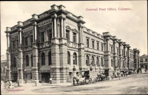 Ak Colombo Ceylon Sri Lanka, General Post Office