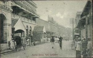 Ak Colombo Ceylon Sri Lanka, Baillie Street, Fort