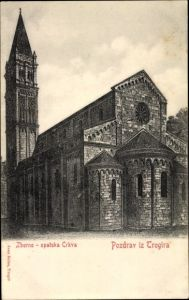 Ak Trogir Kroatien, Zborno, opatska Crkva