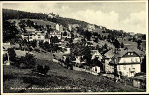 Ak Brückenberg b. Krummhübel Schlesien, Riesengebirge, Ort