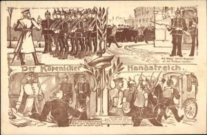 Ak Berlin Köpenick, Der Köpenicker Handstreich, Hauptmann von Köpenick
