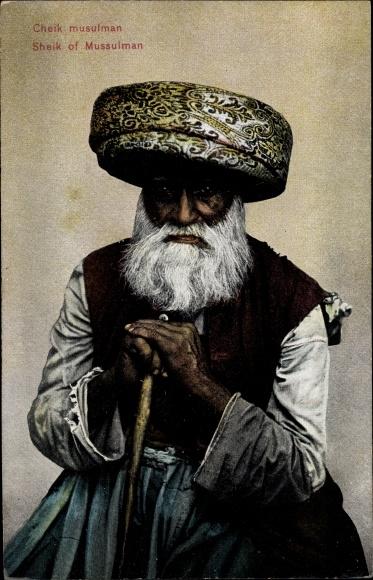 Ak Cheik musulman, Sheik of Mussulman, Moslem