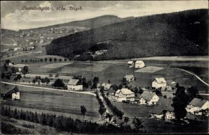 Ak Rittersgrün Breitenbrunn im Erzgebirge, Ort mit Umgebung