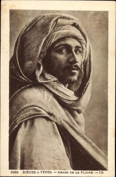 Ak Scenes et Types, Arabe de la Plaine, Araber, Maghreb