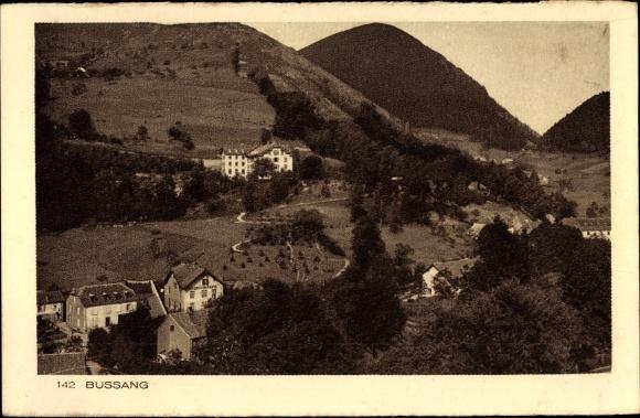 Ak Bussang Lothringen Vosges, Vue générale