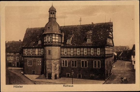 Ak Höxter in Nordrhein Westfalen, Rathaus