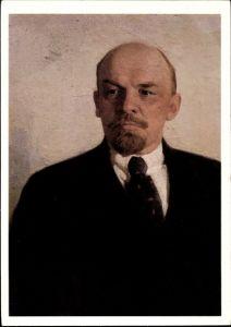 Künstler Ak Wladimir Iljitsch Lenin, Russischer Revolutionär, Portrait