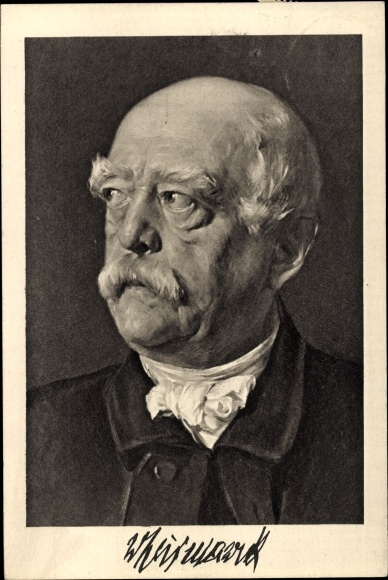 Künstler Ak Petersen, Otto von Bismarck, Herzog zu Lauenburg, Spende für Bismarckdenkmal in Pommern