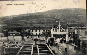 Ak Skopje Mazedonien, Bahnhofsplatz