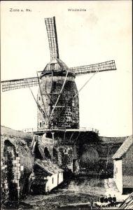 Ak Zons Dormagen Niederrhein, Windmühle