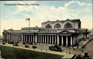 Ak New York City USA, Pennsylvania Station