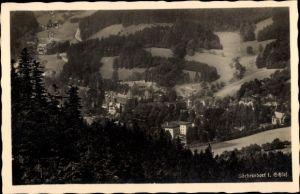 Ak Sokołowsko Görbersdorf Schlesien, Ort mit Umgebung