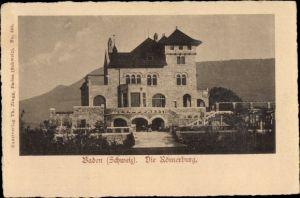 Ak Baden Kt. Aargau Schweiz, Die Römerburg