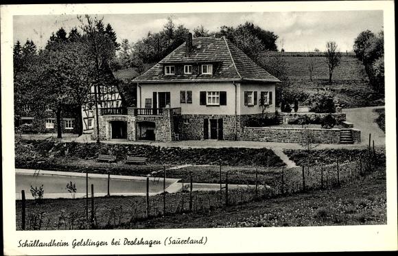 Ak Gelslingen Drolshagen Nordrhein Westfalen, Schullandheim