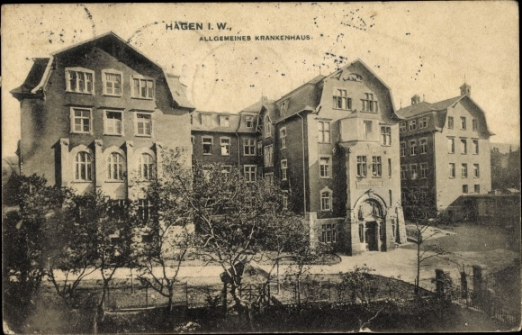 Ak Hagen in Westfalen, Allgemeines Krankenhaus