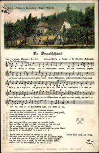 Lied Ak Lied Ak Günther, Anton, Erzgebirgische Mundart 25, Da Draakschänk