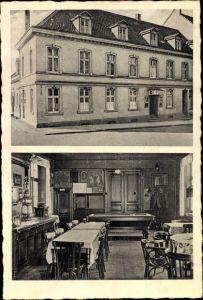 Ak Vohwinkel Wuppertal, Gaststätte Rottscheidter Hof, Bes. Friedrich Lemberg, Gustavstraße 16