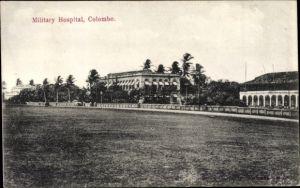 Ak Colombo Ceylon Sri Lanka, Military Hospital