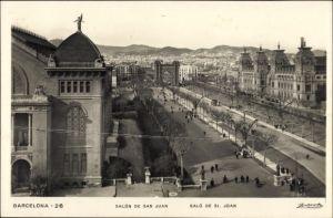 Ak Barcelona Katalonien, Salón de San Juan