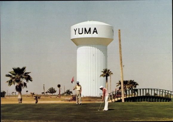 Ak Yuma Arizona USA, Arroyo Dunes Golf Courses, Wasserturm