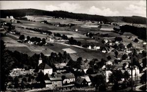 Ak Rittersgrün Breitenbrunn im Erzgebirge, Ort, Umgebung, Felder