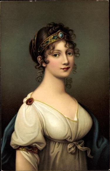 Künstler Litho Grassi, J., Königin Luise von Mecklenburg Strelitz, Luise von Preußen, Stengel 29738