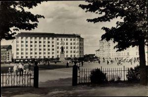 Ak Wyborg Wiborg Viipuri Russland, Blick auf die Königspromenade