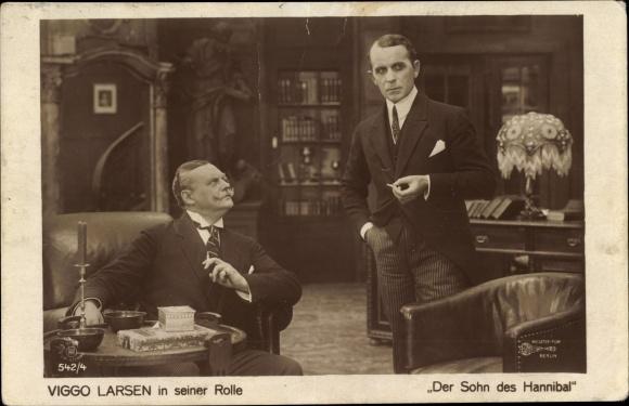 Ak Schauspieler Viggo Larsen, Der Sohn des Hannibal, Zigarette