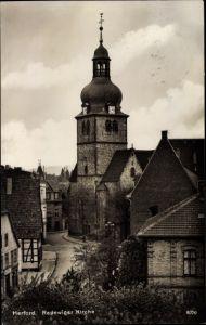 Ak Herford in Nordrhein Westfalen, Radewiger Kirche