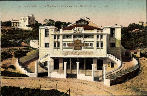 Ak Tanger Marokko, Le Théatre Cervantès