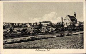 Ak Aufhausen Oberpfalz, Wallfahrtskirche Maria Schnee, Totalansicht
