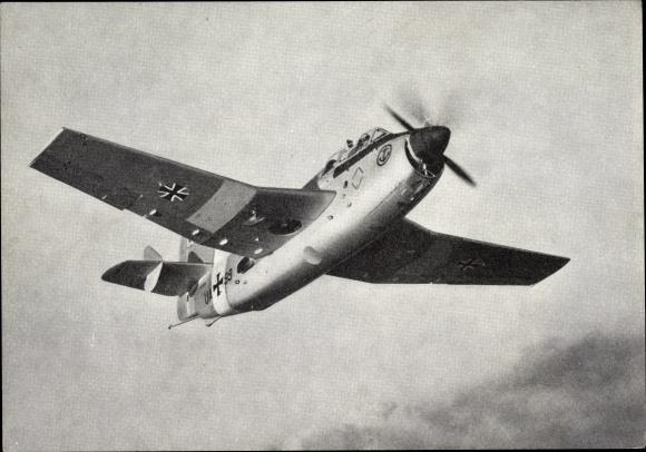 Ak Britisches Militärflugzeug Fairey Gannet, Marine Aufklärer und U-Boots Bekämpfer