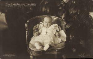 Ak Prinz Hubertus von Preußen, Jüngster Hohenzoller, PH Berlin 2276